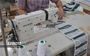 تبدیل کارگاه پوشاک به تولیدی ماسک در شهرستان میانه