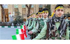 حضور و تجلیل دانش آموزان بسیج آذربایجان شرقی در منزل 1399 معلم همزمان با هفته معلم