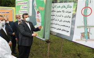 ساخت فاز نخست پارک جنگلی ایزدشهر آغاز شد