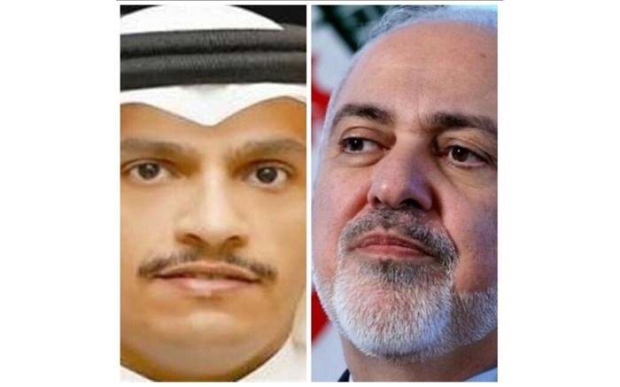 افغانستان محور گفتوگوی ظریف با وزیر خارجه قطر