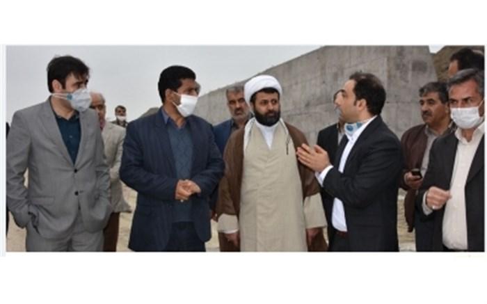 بازدید مسئولین از روند اجرای پروژه متروی مشهد- گلبهار