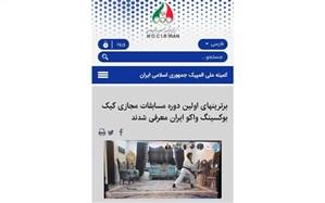 مدال های رنگارنگ رزمی کاران گیلانی در رقابت های مجازی کیک بوکسینگ