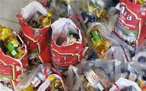 توزیع 5000 بسته  غذایی  در کاشان