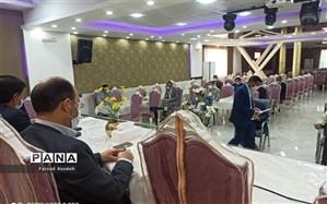 برگزاری جلسه شورا ی آموزش و پرورش کاشمر با رعایت دستورات بهداشتی