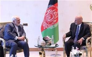 رایزنی اشرف غنی با ظریف درباره آتشبس در افغانستان