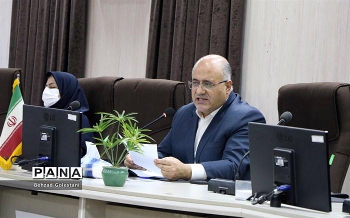 نشست خبری مدیرکل آموزش و پرورش آذربایجان غربی با اصحاب رسانه