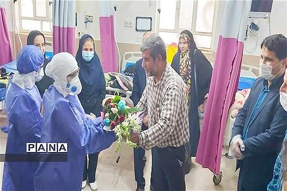 تقدیر از مدافعان سلامت در شهرستان امیدیه