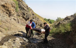 نجات دو گروه کوهنورد مفقود شده در ارتفاعات شهرستان باغملک