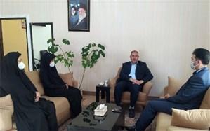 دیدارنماینده مجلس یازدهم  با کادر سازمان دانش آموزی آذربایجان شرقی به مناسبت هفته معلم
