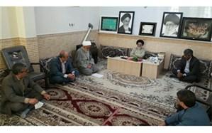 دیدار مدیر آموزش و پرورش نیشابور با امام جمعه  شهرستان