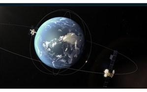 عبور یک سیارک از بیخ گوش یک ماهواره + تصویر