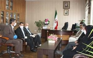دیدار شهردار و اعضای شورای اسلامی شهر زنجان با مدیر کل آموزش وپرورش استان