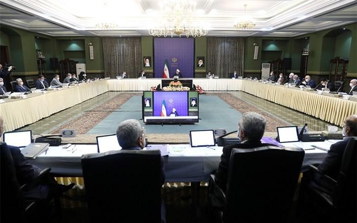 جلسه هیات دولت به ریاست روحانی