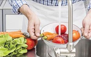 شستن میوه و سبزی در دوران کرونا