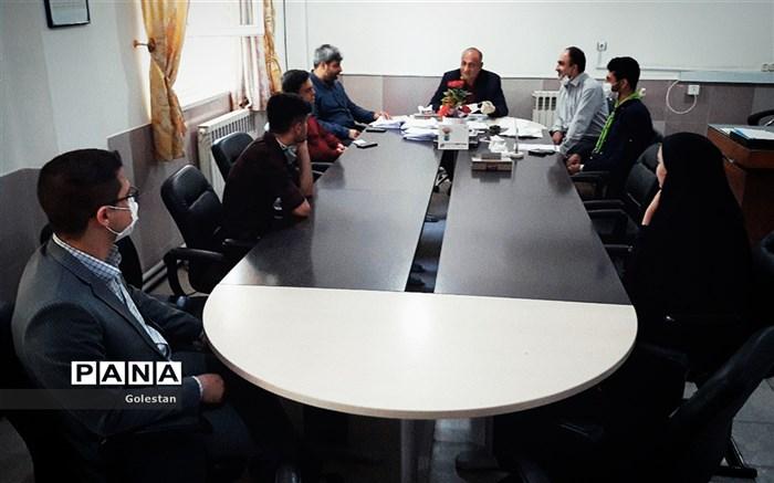 جلسه شورای دانش آموزی بندرگز