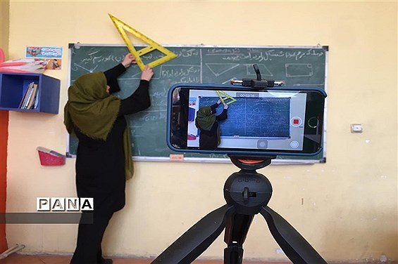 تداوم تلاش معلمان تهرانی برای تدریس در فضای مجازی-2