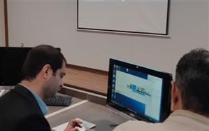برگزاری جلسه ویدئو کنفرانس رییس سازمان دانش آموزی استان همدان با کارشناسان مناطق