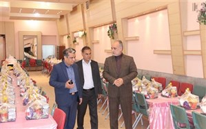 توزیع یک هزارو 200 بسته غذایی بین دانش آموزان محروم استان
