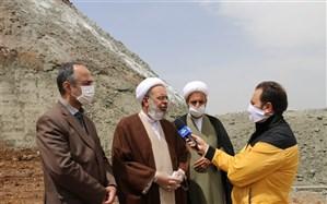 ایجاد دیوارههای بتنی محل دپوی پسماند «روی» برای رفع مشکلات زیست محیطی  و نگرانیهای مردم زنجان