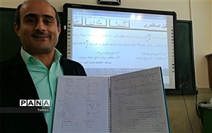 دبیری با بیش از ۲۲۰۰ کلیپ آموزشی در فضای مجازی