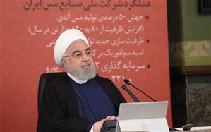 روحانی: برای پیشرفت کشور و تامین نیاز مردم راهی جز تولید نداریم