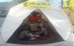 آموزگاران شهرستان شهریار همچنان در خط مقدم ایثار و مهربانی
