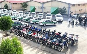 ۹۶ خودرو و موتورسیکلت به یگانهای انتظامی استان بوشهر افزوده شد
