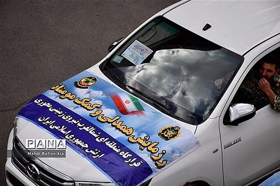 مراسم آغاز توزیع ٨٥ هزار بسته معیشتى در تبریز