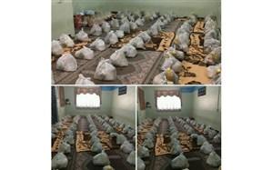 فرهنگیان و دانش آموزان ملکانی 200 بسته غذایی به ارزش 400 میلیون ریال به خانواده های نیازمند اهدا کردند