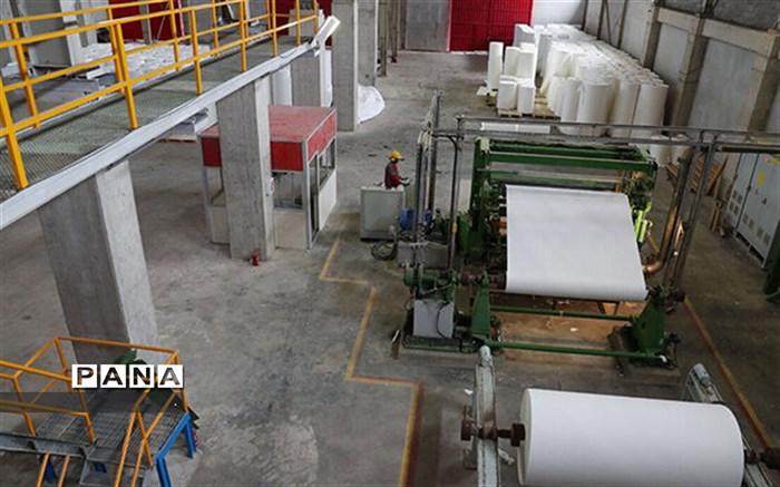 کرونا بهره برداری از کاغذ معدنی فاروج را به تاخیر انداخت