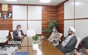 دیدار فرمانده سپاه ناحیه ابوذر با مدیرمنطقه 19