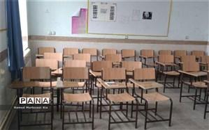 هزینه احسان درگذشت مرحومه درجدهقان به نوسازی صندلیهای دانشآموزی اختصاص یافت