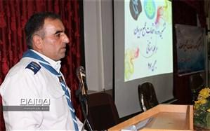 پیام تبریک مدیر سازمان دانش آموزی کرمانشاه به مناسبت تأسیس  سازمان