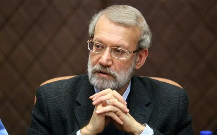 لاریجانی : زنان مجلس با وزانت و اخلاق پیگیر مسائل کشور بودند
