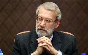لاریجانی قانون مقابله با اقدامات خصمانه رژیم صهیونیستی را به رییس جمهور ابلاغ کرد
