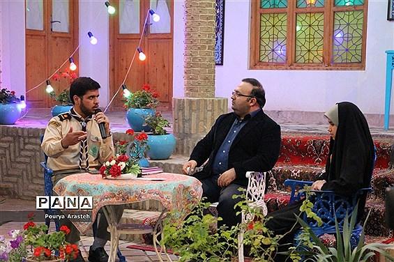 حضورپیشتازان سازمان دانش آموزی خراسان جنوبی دربرنامه زنده تلویزیونی ماه مهربانی