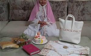 خلاقیت زیبای یک دبستان در برگزاری جشن تکلیف