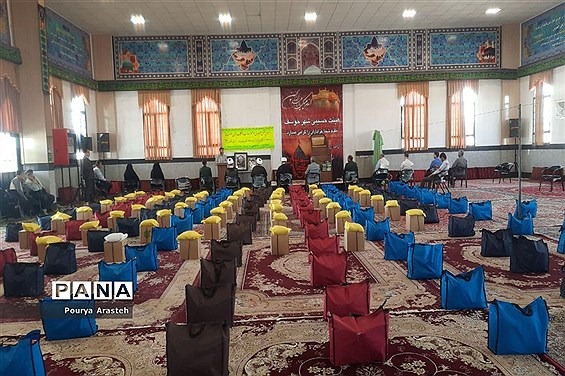 رزمایش مواسات به همت مرکز نیکوکاری شهرستان خوسف استان خراسان جنوبی