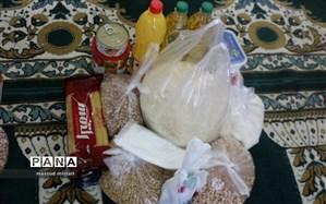 توزیع 2876 بسته به افراد آسیب دیده از کرونا در قزوین
