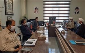 نشست  مسئولین سازمان تبلیغات اسلامی دماوند و رودهن با سرپرست اداره آموزش و پرورش منطقه رودهن