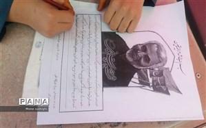 دلنوشته یک دانشآموز درباره «حاج قاسم»: با دستانت نشان دادی که علمدار زنده است