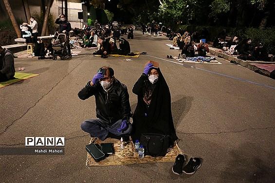 احیا شب نوزدهم ماه رمضان در دانشگاه تهران