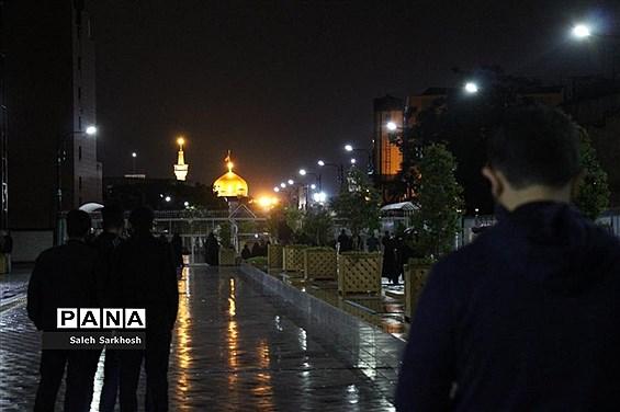 مراسم احیا شب نوزدهم ماه مبارک رمضان  در مشهد