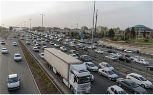 ترافیک نیمه سنگین در محدوده ورودیتهران