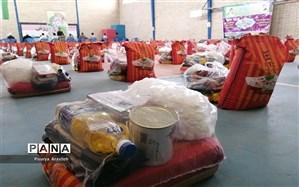 ارسال 200 بسته معیشتی برای پیشمرگان کرد مریوان