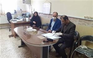 بازدید نماینده مدیر کل آموزش و پرورش از وضعیت آمادگی بازگشایی مدارس شهرستان املش