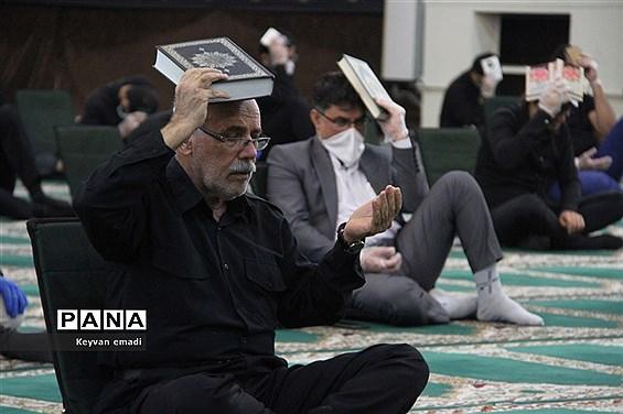 مراسم احیا شب 21 رمضان  شب قدر در مصلی جمعه بوشهر