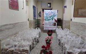 توزیع یک هزار و پانصد و پنجاه بسته افطاری در مناطق محروم شهریار