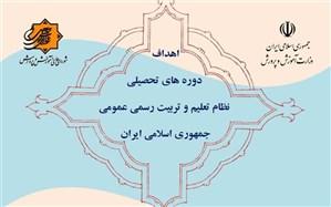 ابلاغ اهداف دورههای تحصیلی نظام تعلیم و تربیت رسمی و عمومی جمهوری اسلامی ایران