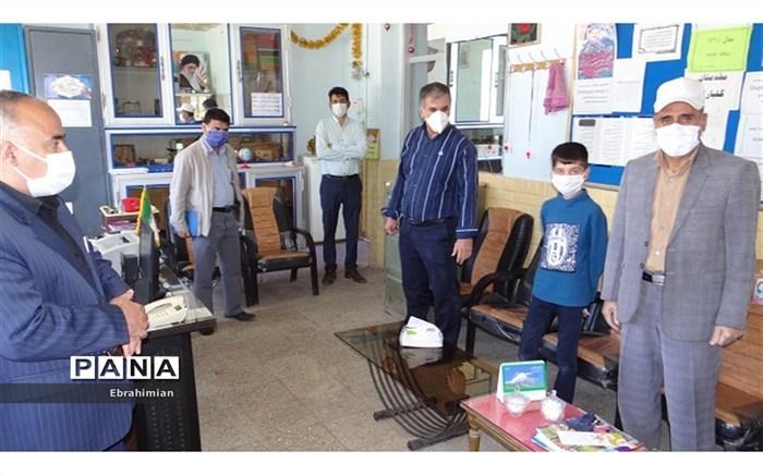 بازدید مدیر آموزش و پرورش شیروان از مدارس